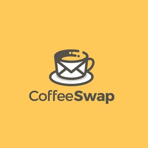 Logo design with the title 'Coffee Swap'
