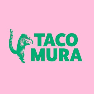 Logo design with the title 'Taco Mura'