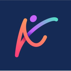 Logo design with the title 'Kidsercise'