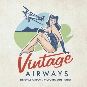Logo design with the title 'Vintage logo design'