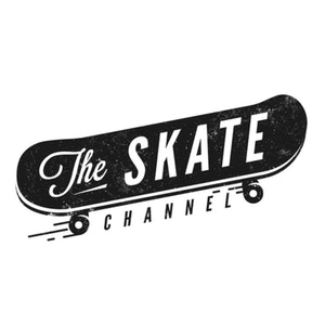 Logo design with the title 'The Skate Channel'