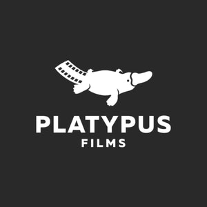 Logo & Squarespace website with the title 'Platypus Films'